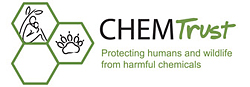 Pic: Logo of ChemTrust - click to go to their website