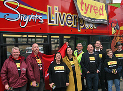 Pic: support for Tyred CAmpaign