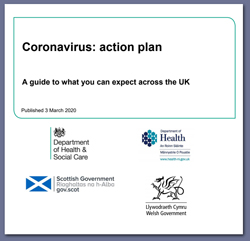 Pic: Coronavirus Action Plan - click to download