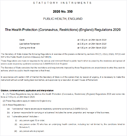 Pic: Covid-19 Regulations - click the pic to download