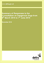 DEFRA's report can be downloaded here