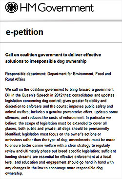 click here to sign the e-petition