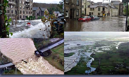 Pic: Flood damage in Cumbria