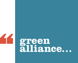 Pic: logo of Green Alliance - click to go to their website