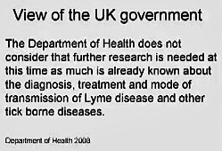 UK Gov view of Lytme disease pic statement