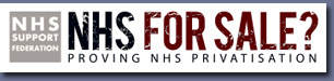 Pic: NHS For Sale - click to go the website
