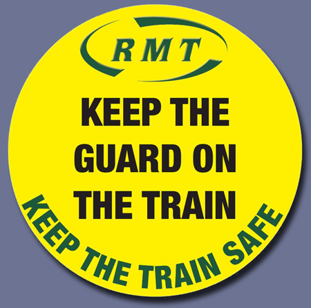 Pic: RMT Campaign badge