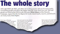 Hilda's article as it appears in this month's SHP
