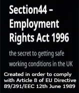 Pic: Section44 Employment Rights Act 1996