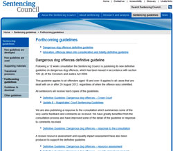 Pic: Sentencing Council website