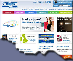 Annualy, 150,000 people in the UK have a stroke - Click here to learn more!