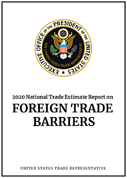 Pic: USTR Foreign Trade Barriers report
