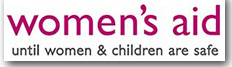 Pic: Women's Aid logo - click to got their website